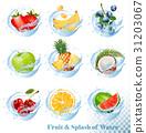vector, icon, fruit 31203067