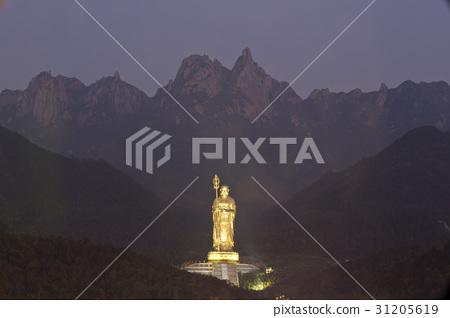 지장보살,구화산,안휘성,중국 31205619