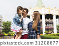 Family Holiday Vacation Amusement Park Togetherness 31208677