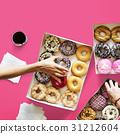 dessert, donut, holding 31212604