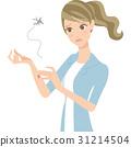 蚊子 痒 女性 31214504
