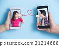 social media concept 31214688