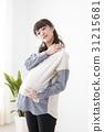 pregnant, pregnant woman, person 31215681
