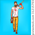 pop, art, vector 31215703