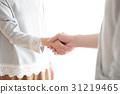 握手 31219465