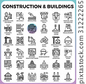 Construction & Buildings icons 31222265