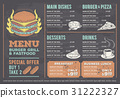 illustration of a design fast food restaurant 31222327