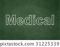 medical, concept, board 31225339