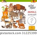 how many animals activity game 31225399