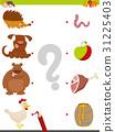 animal bear chicken 31225403