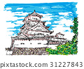 himeji castle, world heritage, castle tower 31227843
