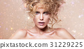 化妆 模型 模特 31229225