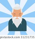 Chinese sensei old man asian elderly portrait 31231735