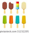 ice cream on a stick 31232205