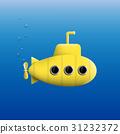 yellow,vector,sub 31232372