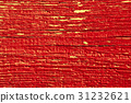 Red cracked paint on a wooden wall 31232621