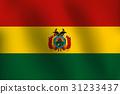 Flag of Bolivia - Vector Illustration 31233437
