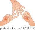 match, rock paper scissors, body part 31234712