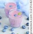 Blueberry Smoothie  31235182