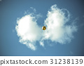 soccer ball, soccerball, sky 31238139