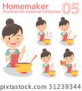 Housewife, housewife, culinary 31239344