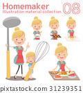 主婦 家庭主婦 料理 31239351