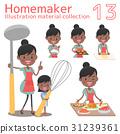 主婦 家庭主婦 烹飪 31239361