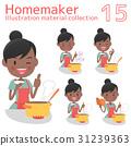 Housewife, housewife, culinary 31239363