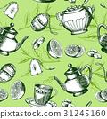 cup, tea, teapot 31245160