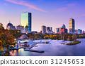 boston, massachusetts, skyline 31245653