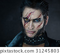 Professional make-up werewolf Wolverine 31245803