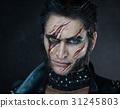 Professional make-up werewolf Wolverine 31245803