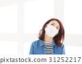 ผู้หญิงสวมหน้ากาก 31252217