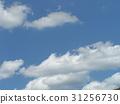 蓝天 蓝蓝的天空 蓝色 31256730