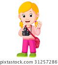 Cartoon character - photographer 31257286