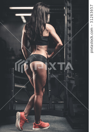 Pretty fitness sexy model luxury ass fat burning concept 31263657