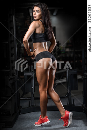 Pretty fitness sexy model luxury ass fat burning concept 31263658