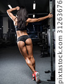 buttocks exercise female 31263676