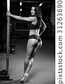Pretty fitness sexy model luxury ass fat burning concept 31263690
