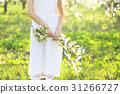 Woman, Spring, Garden 31266727