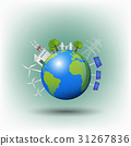World ecology friendly and sustainable energy 31267836