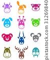 Animal labels 31269840