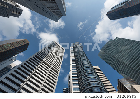 Modern business office skyscrapers 31269885