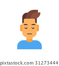 Profile Icon Male Emotion Avatar, Man Cartoon 31273444