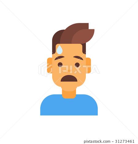 Profile Icon Male Emotion Avatar, Man Cartoon 31273461