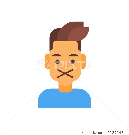 Profile Icon Male Emotion Avatar, Man Cartoon 31273474