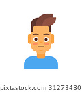 Profile Icon Male Emotion Avatar, Man Cartoon 31273480