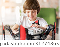 Happy smiling young technician in work 31274865