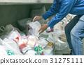 쓰레기 배출 31275111