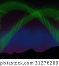 Green aurora 31276289